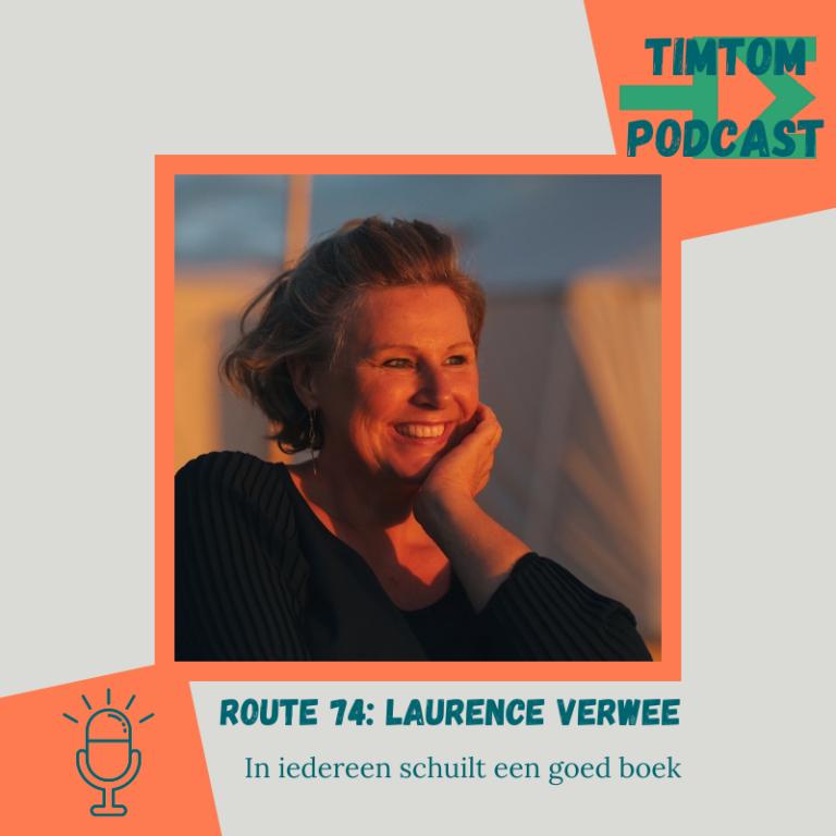 ROUTE 74 – In iedereen schuilt een goed boek – met Laurence Verwee